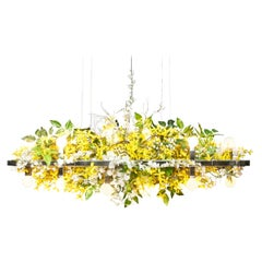 Matrix Floral Linear Suspension Chandelier
