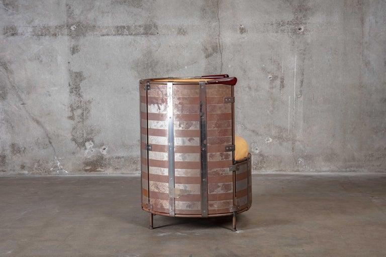 Swedish Mats Theselius 'Algskimsfatsolj' Chair For Sale