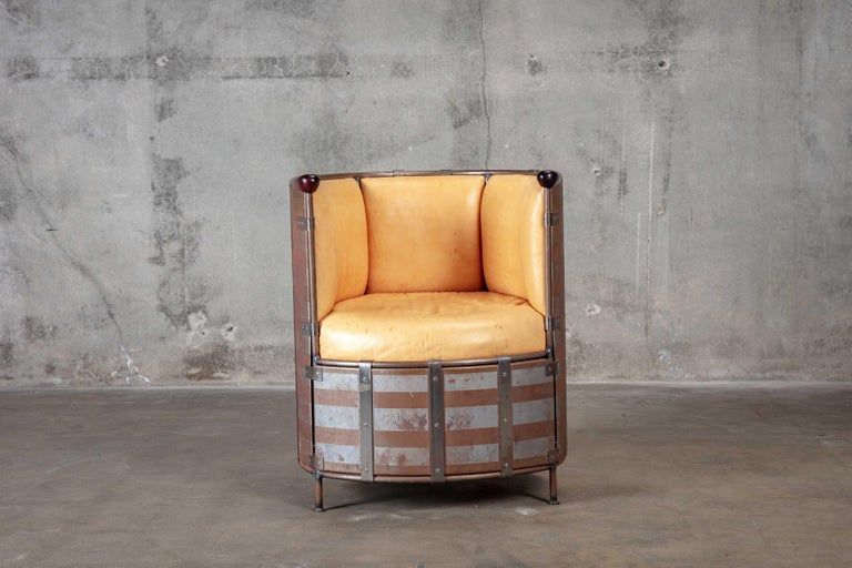 Mats Theselius 'Algskimsfatsolj' Chair In Fair Condition For Sale In Los Angeles, CA