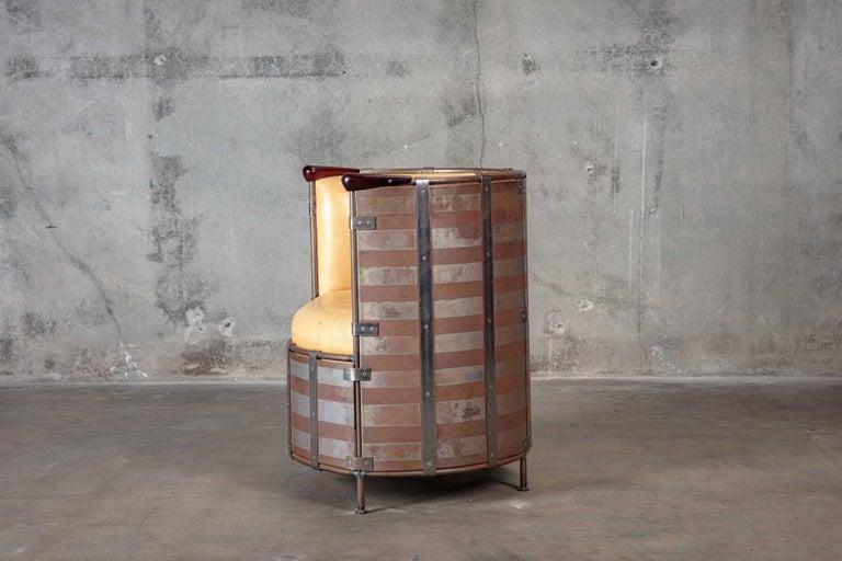 Metal Mats Theselius 'Algskimsfatsolj' Chair For Sale
