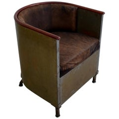 """Mats Theselius for Källemo """"Järn / Mocca"""" / """"Iron / Suede"""" Chair Edition 146/360"""
