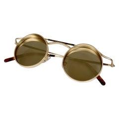 Matsuda 1990s Steampunk Sunglasses