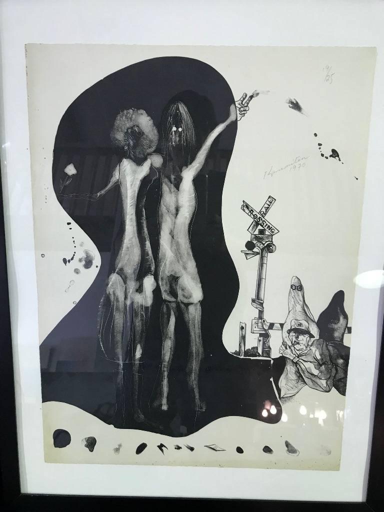 Modern Matsumi Kanemitsu Limited Edition Lithograph Print