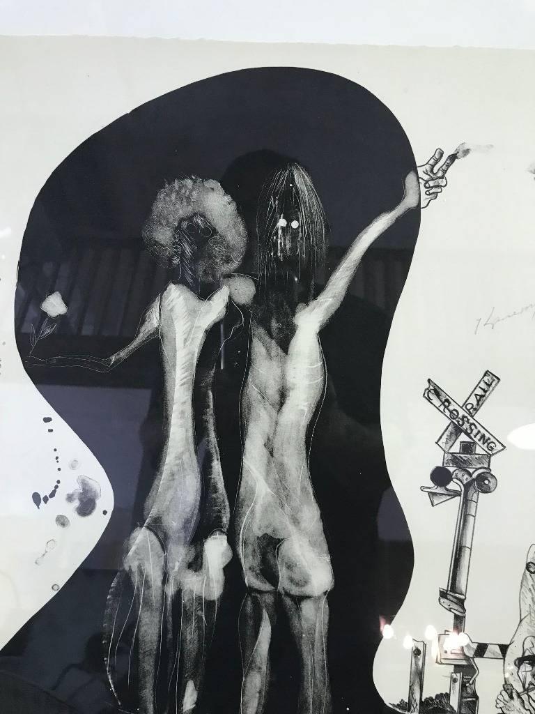 Matsumi Kanemitsu Limited Edition Lithograph Print