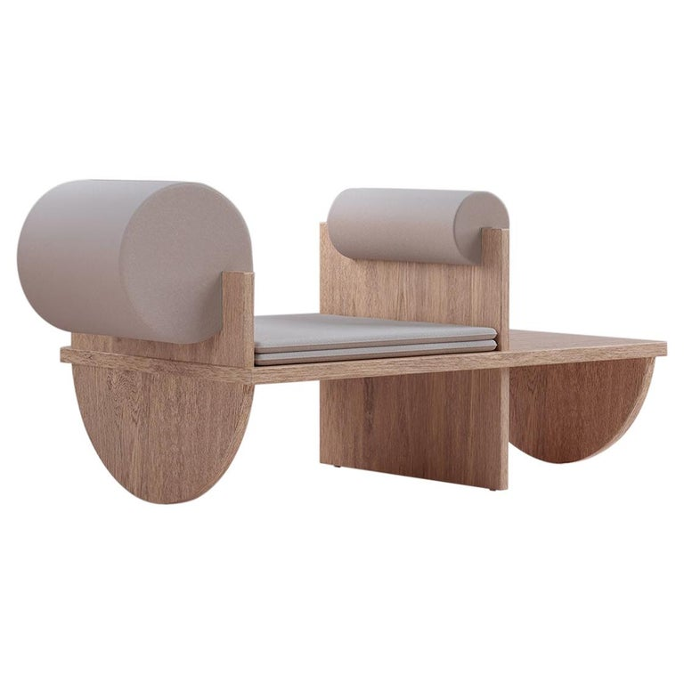 Contemporary Matsumoto Bench Sofa Chair Japan Inspiration by Reisinger Andrés For Sale