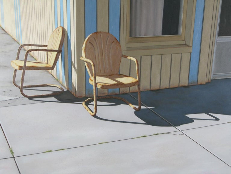 Matt Condron Landscape Painting - 90˚ In The Shade