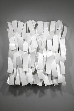 Brushstrokes #2, Matt Devine, (Indoor/Outdoor and Vert/Horiz Wall Sculpture)