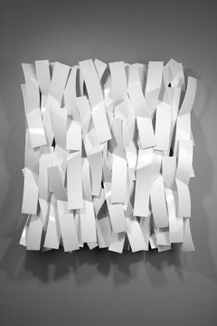 Brushstrokes #2, Matt Devine, (Indoor/Outdoor and Vert/Horiz Wall Sculpture)