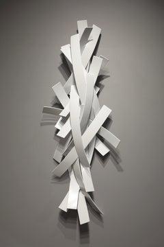 Hold on Tight #4_Matt Devine_Aluminum w/ Powdercoat Indoor/Outdoor AbstSculpture