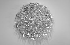 One to One, Matt Devine (Chrome Wall Sculpture, Indoor only)
