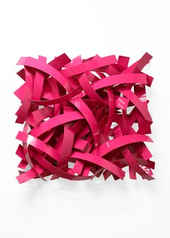 Pretty in Pink (Indoor or Outdoor Wall Sculpture)