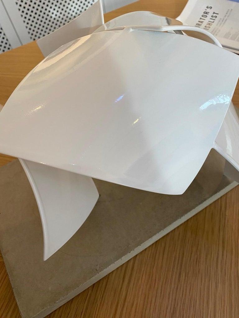 Studio Study 19-19 (Indoor Sculpture), Matt Devine, Steel, White Powdercoat For Sale 3