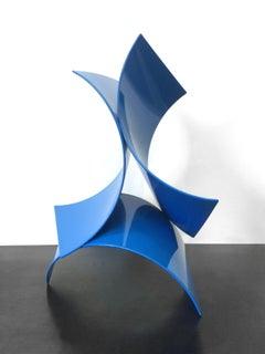 Three of a Kind Mini #11, Matt Devine, Steel w/ Blue Powdercoat (Indoors Only)