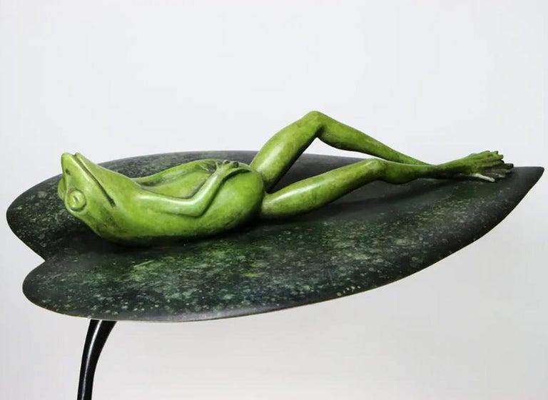 Sir Bobbious - Contemporary Figurative Sculpture by Matt Duke For Sale 1
