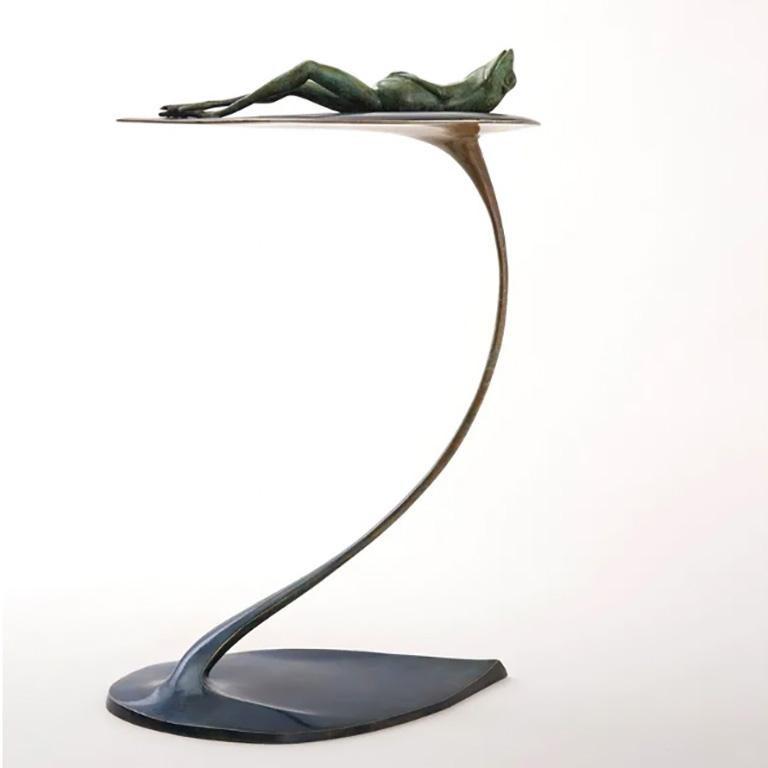 Sir Bobbious - Contemporary Figurative Sculpture by Matt Duke