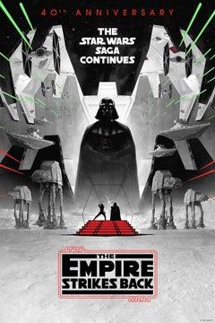 Matt Ferguson - The Empire Strikes Back - 40th Ann. Variant -Cinema Film Posters