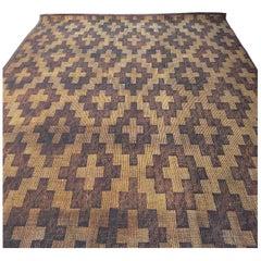 Matt from Mauritania Sahara in Palm Wood and Leather, Mid-Century Modern Design