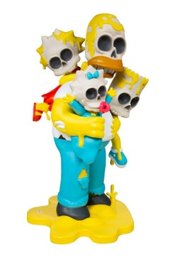 SIMPSONS NUCLEAR FAMILY (4FT STATUE)