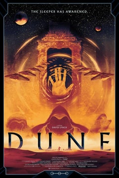 Matt Griffin - Dune Variant - Contemporary Cinema Movie Film Posters
