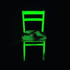 Glow in the dark Chair green home interiors interior design