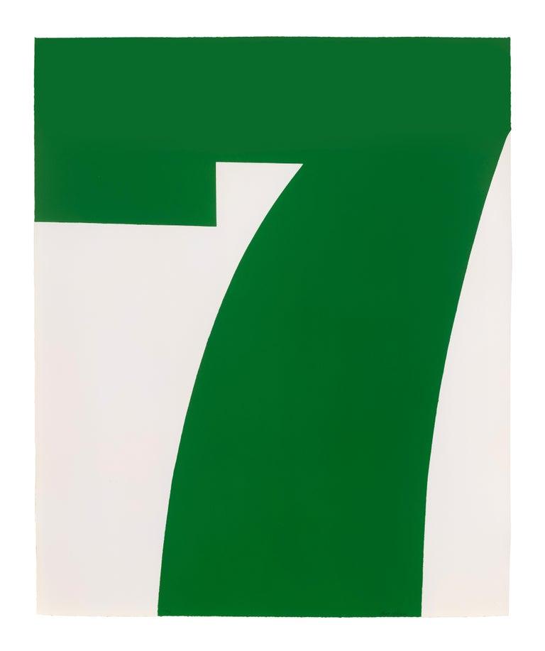 Green Seven - Print by Matt Magee