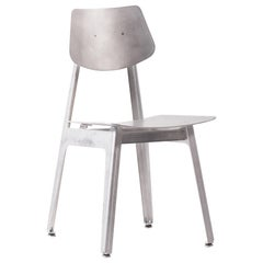 Matte Aluminum Dining Chair BT