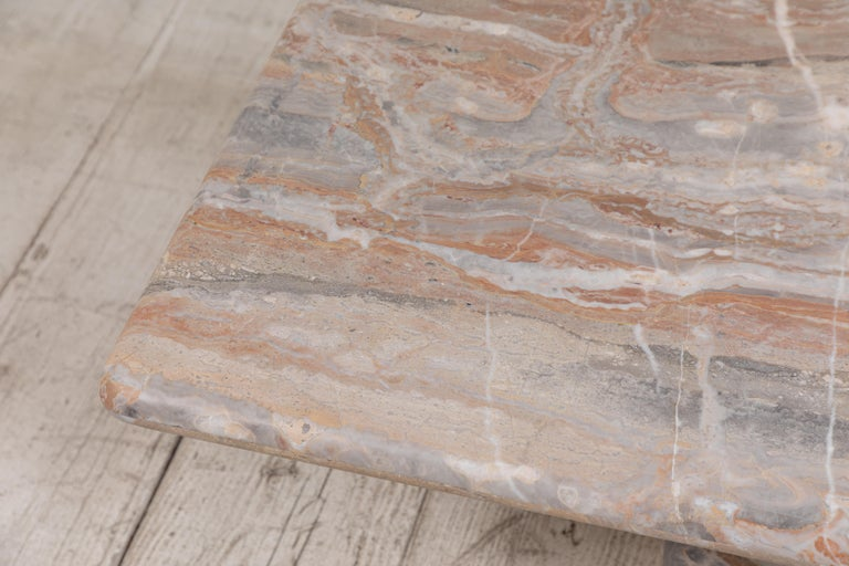 Matte Marble Rectangular Coffee Table 9