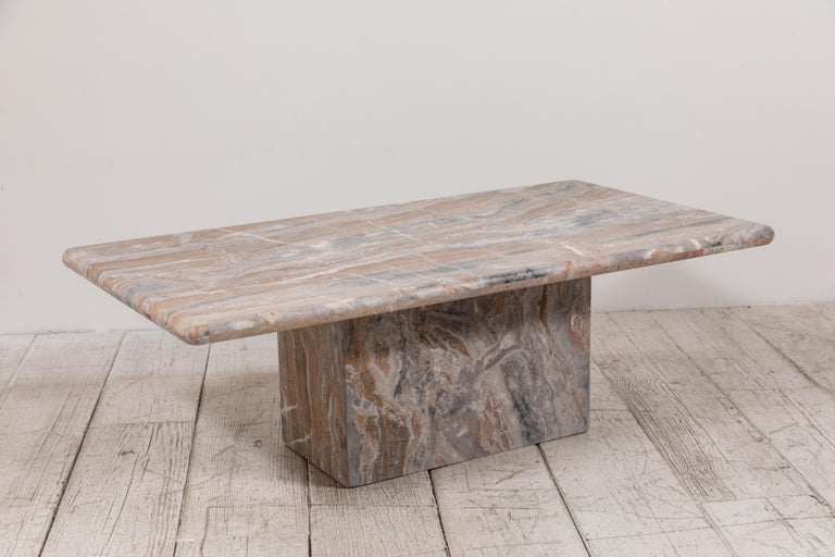 Matte Marble Rectangular Coffee Table 2