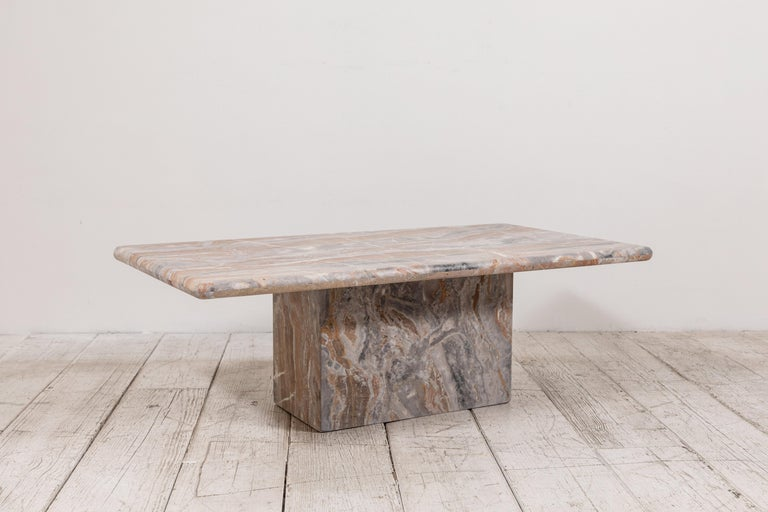 Matte Marble Rectangular Coffee Table 3