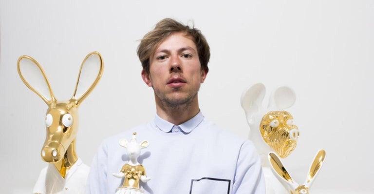 Contemporary Matteo Cibic Blanko Ceramic Sculpture Superego Editions, Italy For Sale
