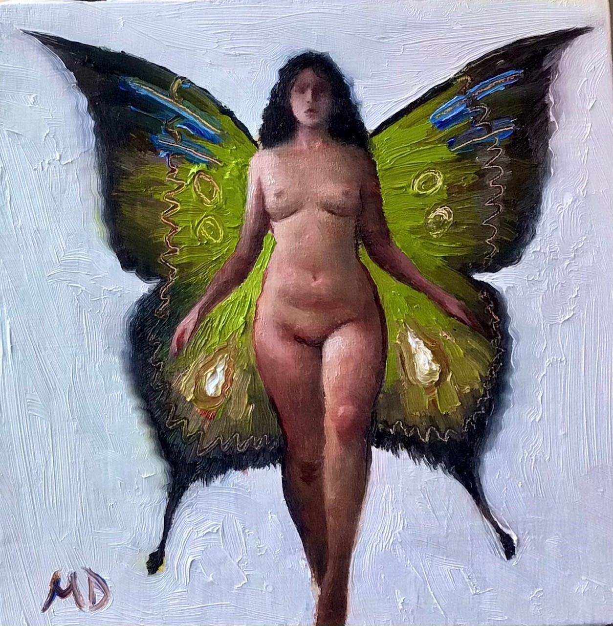 """""""Emerged Fairy"""" Oil Painting"""