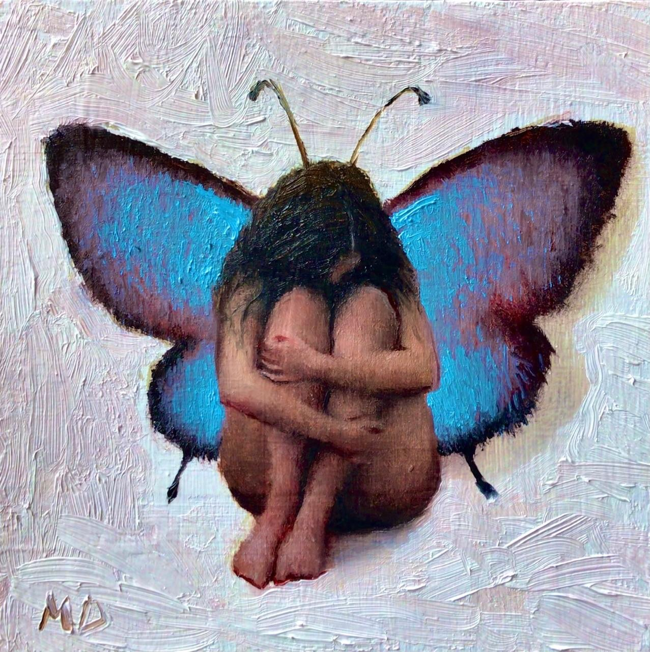 """""""Solace Fairy"""" Oil Painting"""