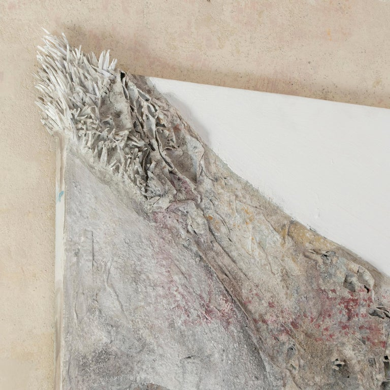 Matteo Giampaglia Mixed-Media Abstract Triptych Wall Art, Italy, 2019 For Sale 1