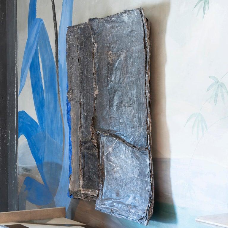 Matteo Giampaglia mixed-media abstract wall art