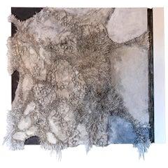Matteo Giampaglia Mixed Media Abstract Wall Art, Italy, 2019