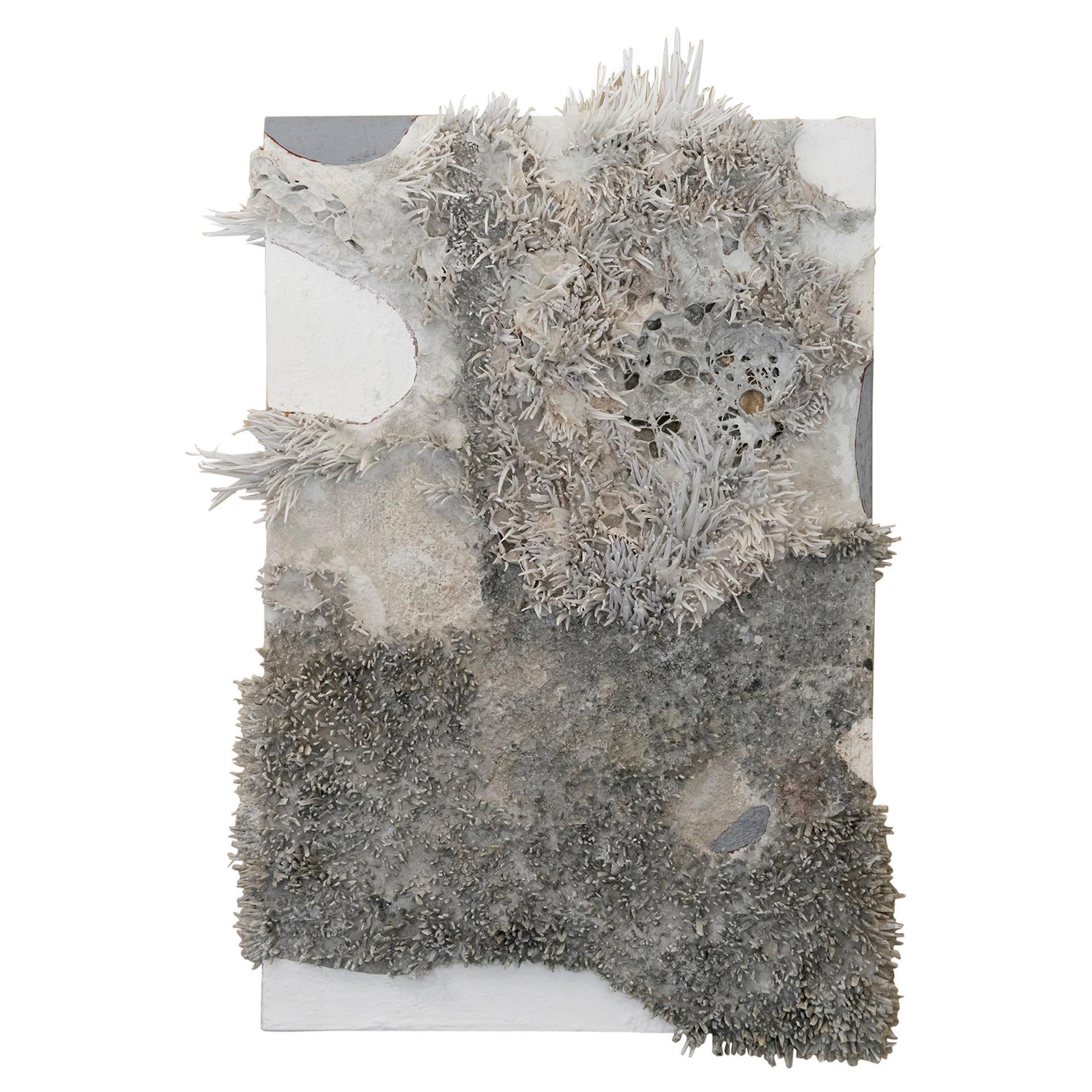 Matteo Giampaglia Mixed-Media Abstract Wall Art, Italy, 2020