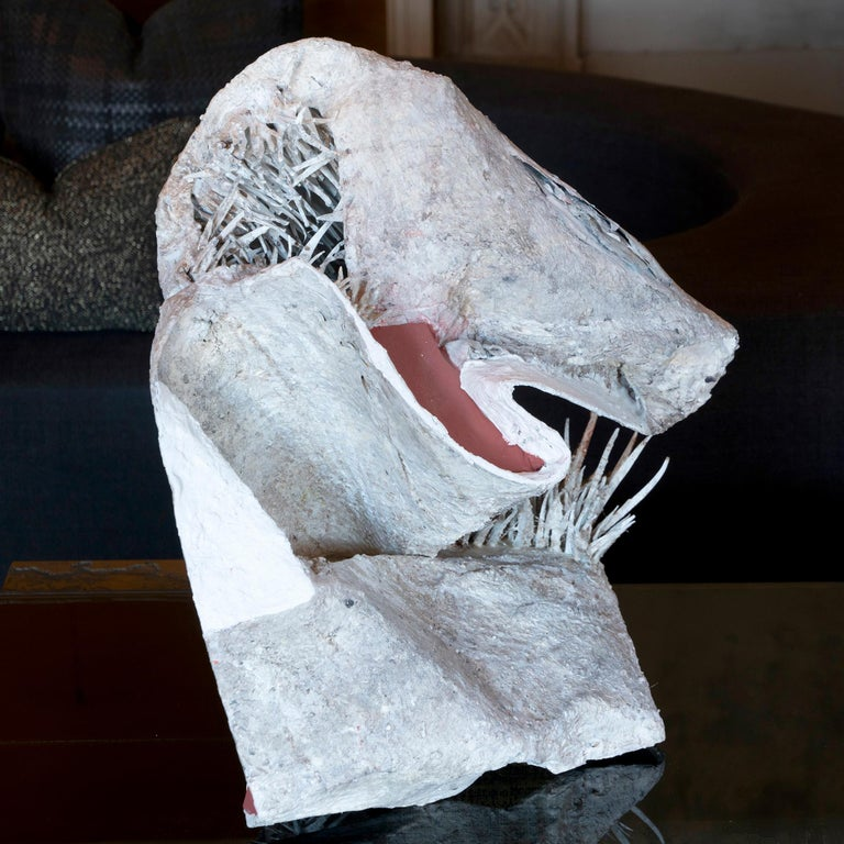 Matteo Giampaglia PVC and Plaster Abstract Sculpture, Italy, 2019 In New Condition For Sale In Firenze, IT