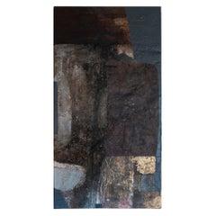 "Matteo Giampaglia ""Suono di Autunno"" Abstract Mixed-Media Painting, Italy, 2019"