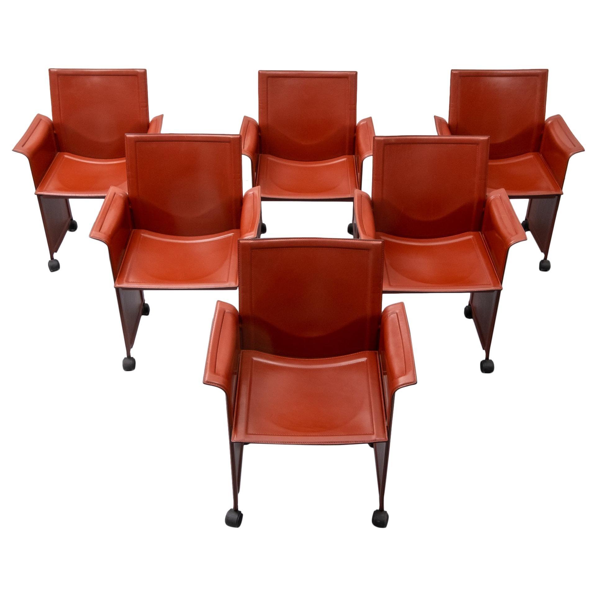Matteo Grassi Korium armchairs Tito Agnoli