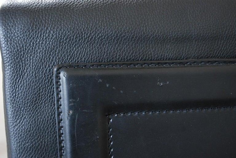 Matteo Grassi Korium Leather Armchair or Chair Korium by Tito Agnoli For Sale 6