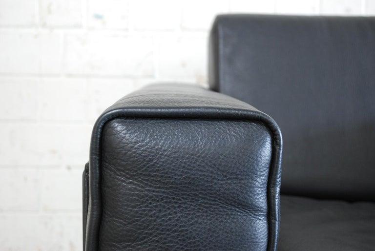 Late 20th Century Matteo Grassi Korium Leather Armchair or Chair Korium by Tito Agnoli For Sale