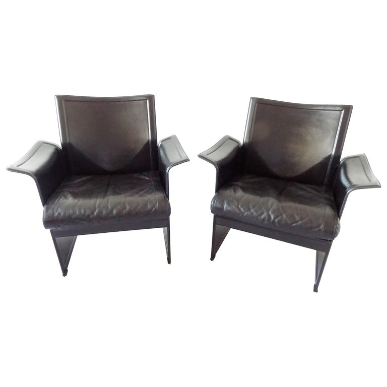 Prime Matteo Grassi Korium Lounge Chairs Pair Dailytribune Chair Design For Home Dailytribuneorg