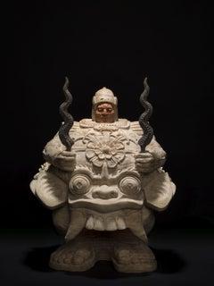 Balinese Guardian, Marble