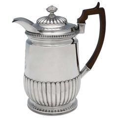 Matthew Boulton, Regency Period Antique Sterling Silver Water Jug from 1811