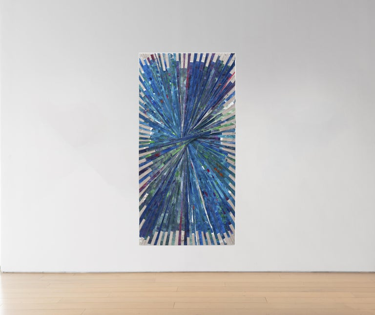 Many People Are Like That, an Object Suddenly Becomes Valuable to Them Because Someone Else Would Like to Have it 2012 Oil and acrylic on canvas 96 x 48 inches  About the artist  Matthew Chambers was born in Boise, ID in 1982. He earned his BFA from
