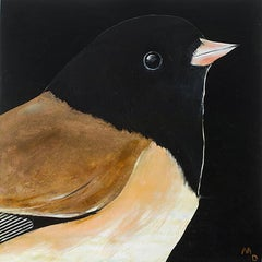 JUNCO - oil painting of bird