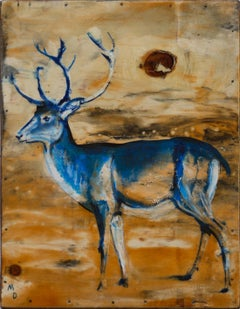 THE BLUE DEER