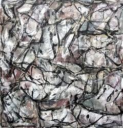 Vacant Scheme, Mixed Media on Canvas