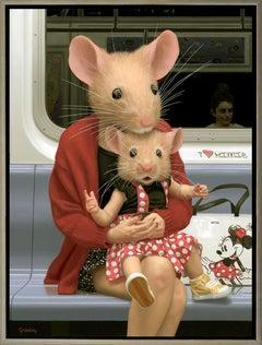 """Mini Minnie"" Realistic and Surrealistic Oil on Canvas, 2020"