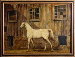 White Horse, Oil Painting